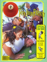 Cover of 7ball, Nov / Dec 1997 #15, featuring Five Iron Frenzy