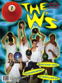 Cover of 7ball, Nov / Dec 1998 #21, featuring The W's