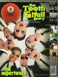 Cover of 7ball, May / Jun 1998 #18, featuring The Supertones