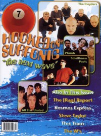 Cover of 7ball, Jul / Aug 1998 #19, featuring Surfonic Water Revival