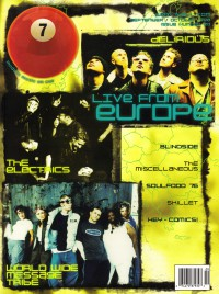 Cover of 7ball, Sep / Oct 1998 #20, featuring The European Scene