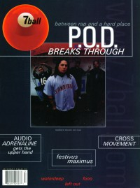 Cover of 7ball, Nov / Dec 1999 #27, featuring P.O.D.