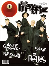 Cover of 7ball, Jan / Feb 1999 #22, featuring The Insyderz