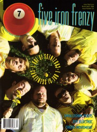 Cover of 7ball, Mar / Apr 1999 #23, featuring Five Iron Frenzy