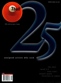 Cover of 7ball, Jul / Aug 2000 #31, featuring 25 Unsigned Artists