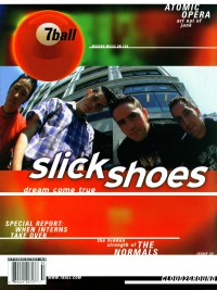 Cover of 7ball, Sep / Oct 2000 #32, featuring Slick Shoes