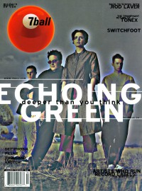 Cover of 7ball, Jan / Feb 2001 #34, featuring The Echoing Green