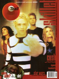 Cover for March 2001, featuring Skillet