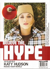 Cover of 7ball, Jul / Aug 2001 #37, featuring Katy Hudson