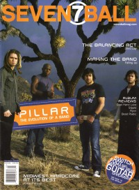 Cover of 7ball, May / Jun 2004 #45, featuring Pillar