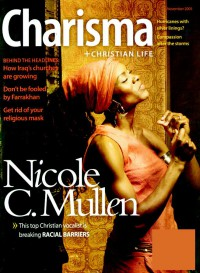 Cover for November 2005, featuring Nicole C. Mullen
