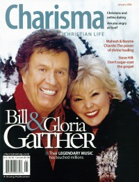 Cover of Charisma, Jan 2006 v. 31, i. 6, featuring Bill Gaither & Gloria Gaither
