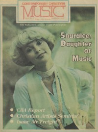 Cover of CCM, Sep 1978 v. 1, i. 3, featuring Sharalee Lucas