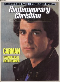 Cover of CCM, May 1985 v. 7, i. 11, featuring Carman