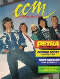 Cover of CCM, Oct 1987 v. 10, i. 4, featuring Petra