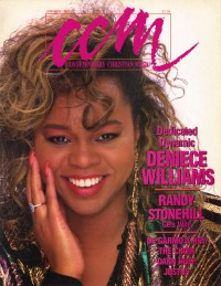 Cover of CCM, Jan 1987 v. 9, i. 7, featuring Deniece Williams