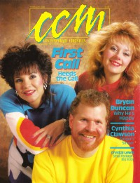 Cover of CCM, Feb 1988 v. 10, i. 8, featuring First Call