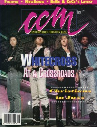 Cover of CCM, Aug 1991 v. 14, i. 2, featuring Whitecross