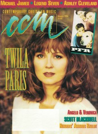 Cover of CCM, Jan 1994 v. 16, i. 7, featuring Twila Paris