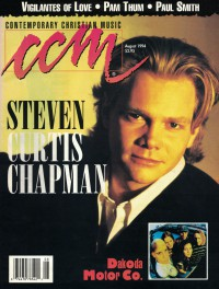 Cover of CCM, Aug 1994 v. 17, i. 2, featuring Steven Curtis Chapman