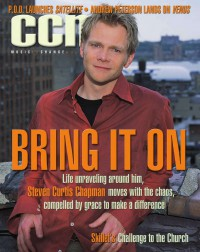Cover of CCM, Oct 2001 v. 24, i. 4, featuring Steven Curtis Chapman