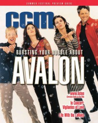 Cover of CCM, Apr 2001 v. 23, i. 10, featuring Avalon