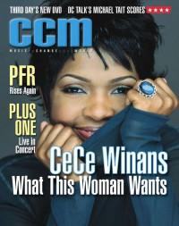 Cover of CCM, Jul 2001 v. 24, i. 1, featuring CeCe Winans