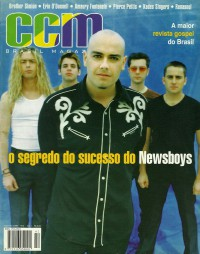 Cover for November 1998, featuring The Newsboys