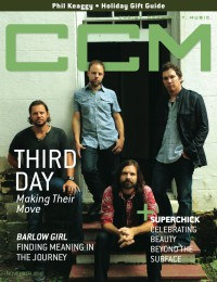 Cover of CCM Digital, Nov 2010, featuring Third Day