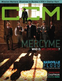Cover of CCM Digital, Jun 2010, featuring MercyMe