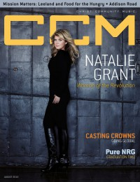 Cover of CCM Digital, Aug 2010, featuring Natalie Grant
