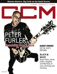 Cover of CCM Digital, Jul 2011, featuring Peter Furler
