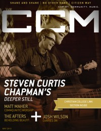 Cover of CCM Digital, May 2013, featuring Steven Curtis Chapman