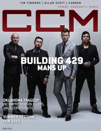Cover of CCM Digital, Jun 2013, featuring Building 429
