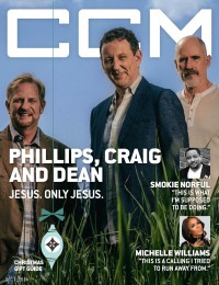 Cover of CCM Digital, 1 Dec 2014, featuring Phillips, Craig, and Dean
