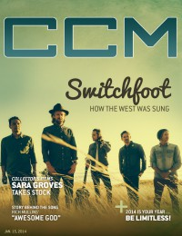 Cover of CCM Digital, 15 Jan 2014, featuring Switchfoot