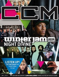 Cover of CCM Digital, 1 Jan 2014, featuring Winter Jam