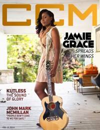 Cover of CCM Digital, 15 Feb 2014, featuring Jamie Grace