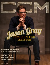 Cover of CCM Digital, 1 Mar 2014, featuring Jason Gray