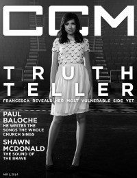 Cover of CCM Digital, 1 May 2014, featuring Francesca Battistelli