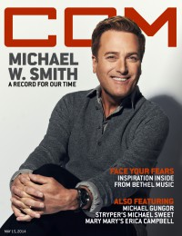 Cover of CCM Digital, 15 May 2014, featuring Michael W. Smith