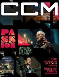 Cover of CCM Digital, 1 Jun 2014, featuring Passion Band