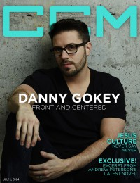 Cover of CCM Digital, 1 Jul 2014, featuring Danny Gokey