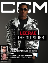 Cover of CCM Digital, 1 Sep 2014, featuring Lecrae