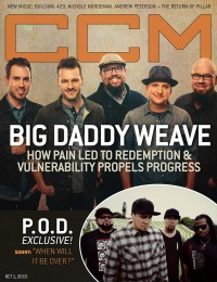 Cover of CCM Digital, 1 Oct 2015, featuring Big Daddy Weave