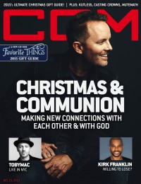 Cover of CCM Digital, 15 Dec 2015, featuring Andrew Greer