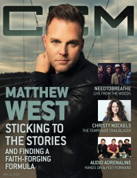 Cover of CCM Digital, 15 May 2015, featuring Matthew West