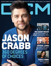 Cover of CCM Digital, 15 Sep 2015, featuring Jason Crabb