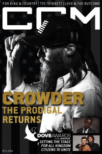 Cover of CCM Digital, 1 Oct 2016, featuring David Crowder