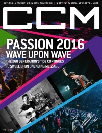 Cover of CCM Digital, 1 Feb 2016, featuring Passion Band